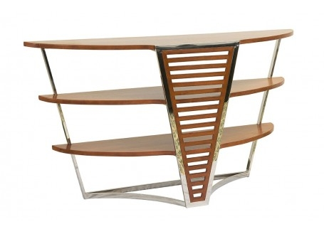 Large console table in inox