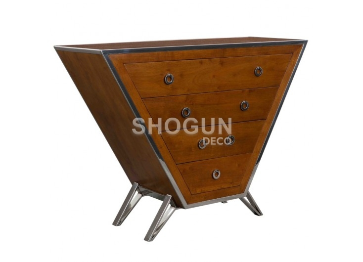 Commode Bourget - finition noyer