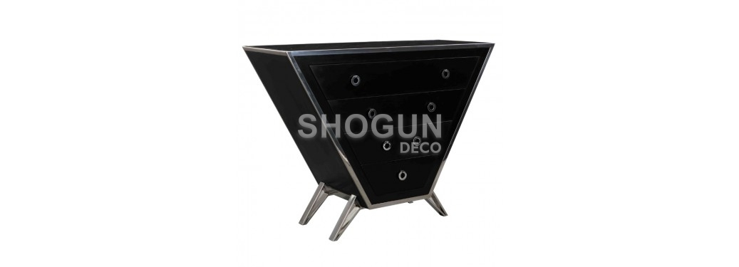 Commode Bourget - finition noire