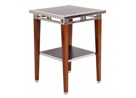 Aston side table in inox