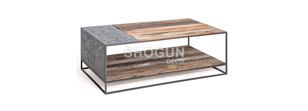 Rectangular coffee table Coral
