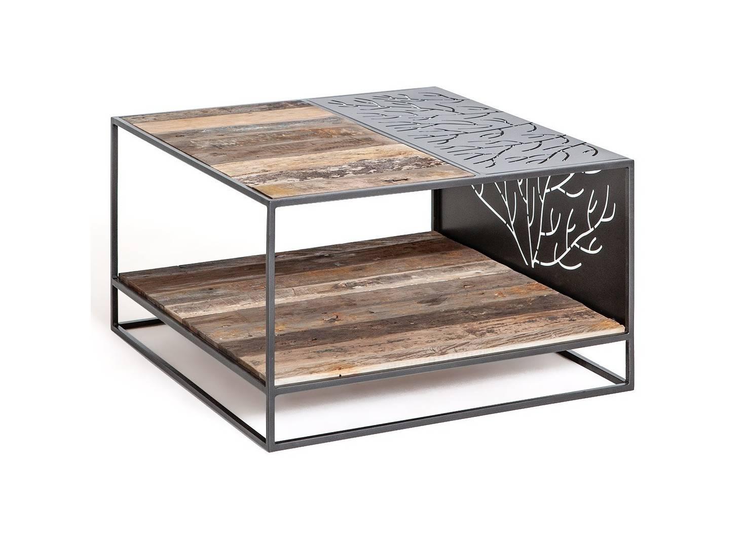 Table basse carrée Coral