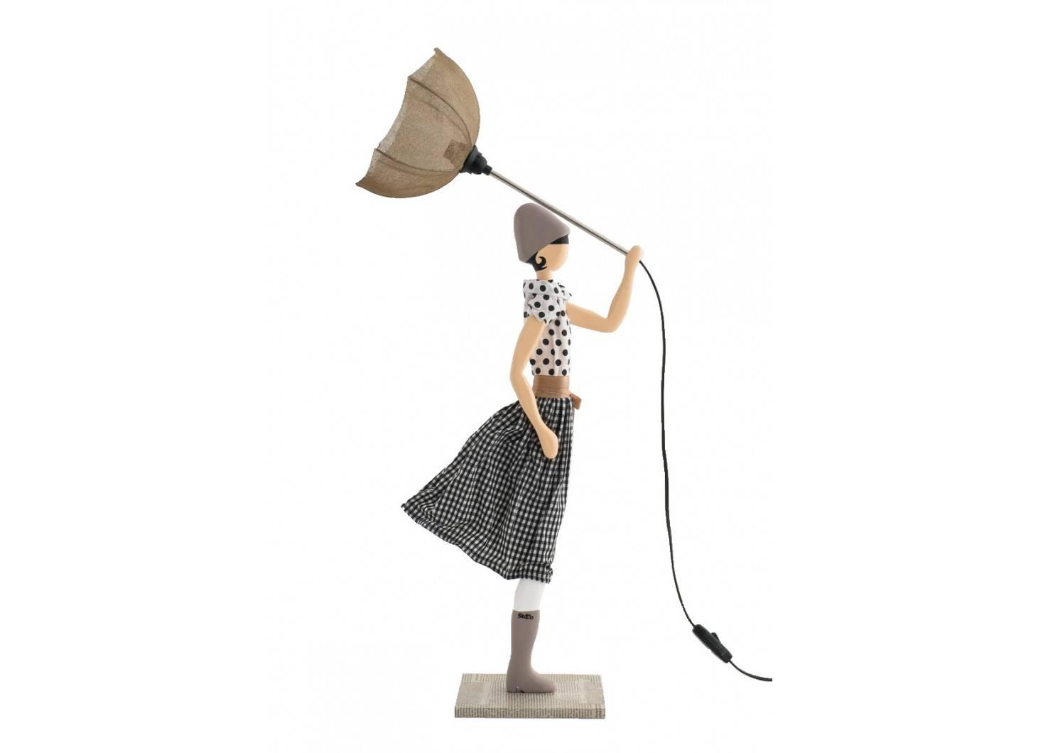 Lampe Jean Marie - fille au parapluie