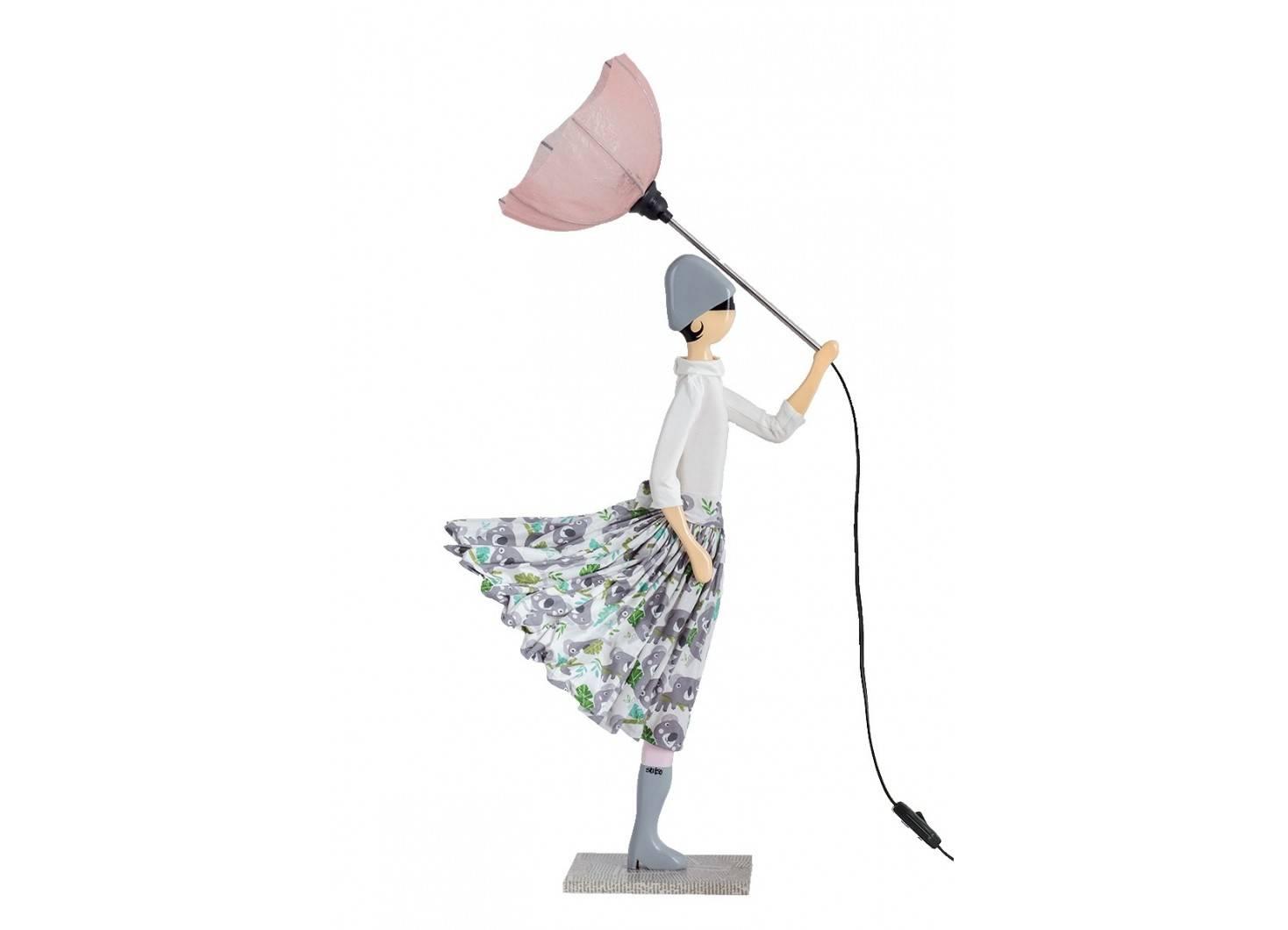 Lampe Mella - fille au parapluie