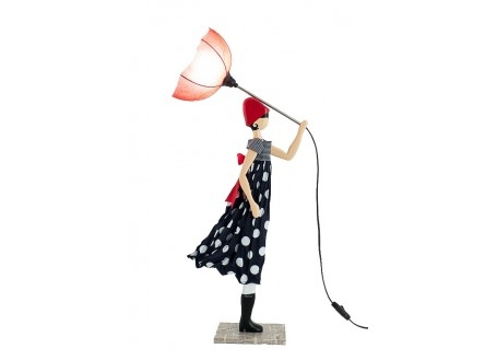 Lampe femme au parapluie - Mimi