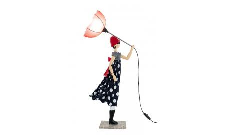 Lampe Mimi - fille au parapluie