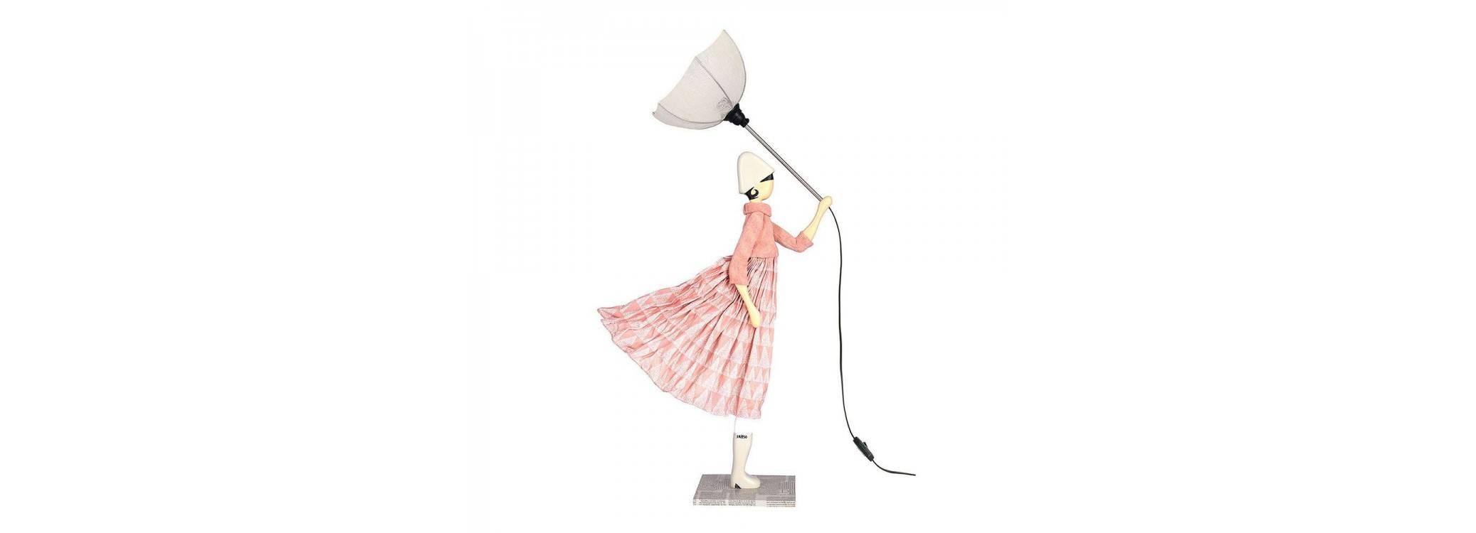 Lampe femme au parapluie - Pavlova