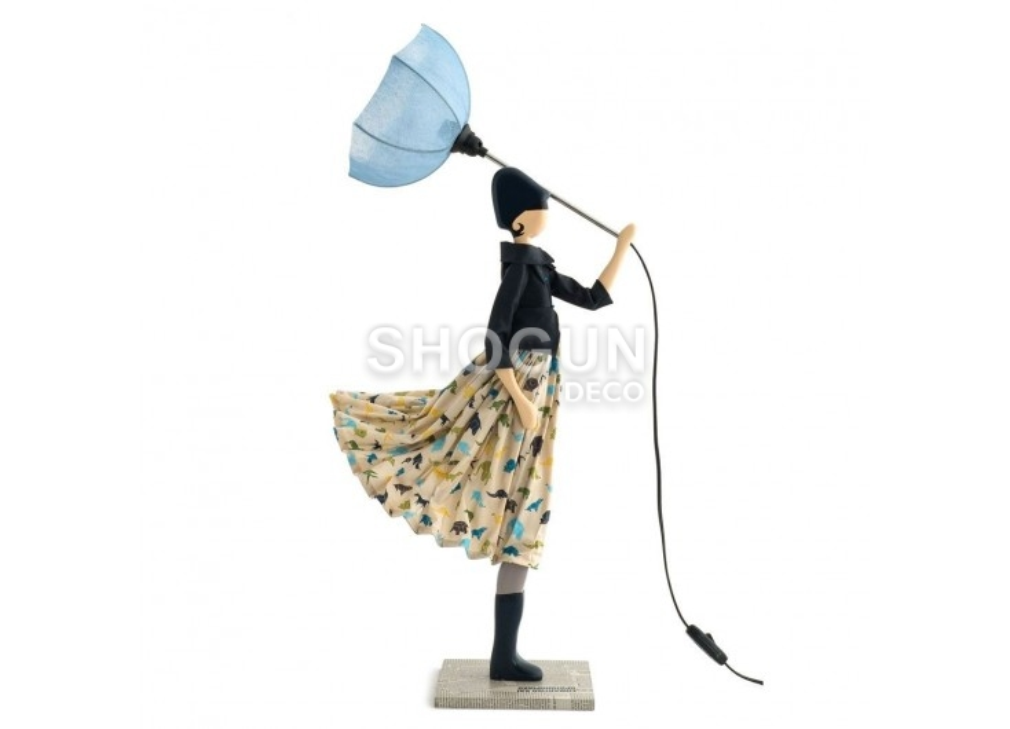 Lampe Zaoli - fille au parapluie