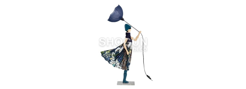 Lampe femme au parapluie - Pepper Ann