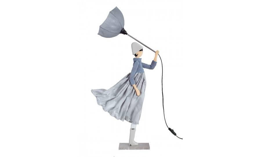 Lampe Perla - fille au parapluie