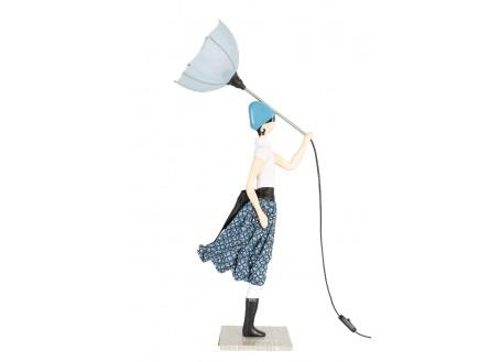 Lampe femme au parapluie - Cecilia