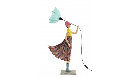 Lampe Nena - fille au parapluie