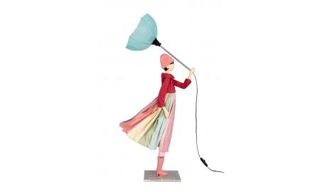 Lampe Anatole - fille au parapluie