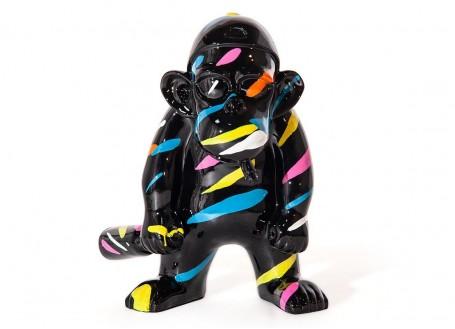 Statue de gorille en résine - H45cm