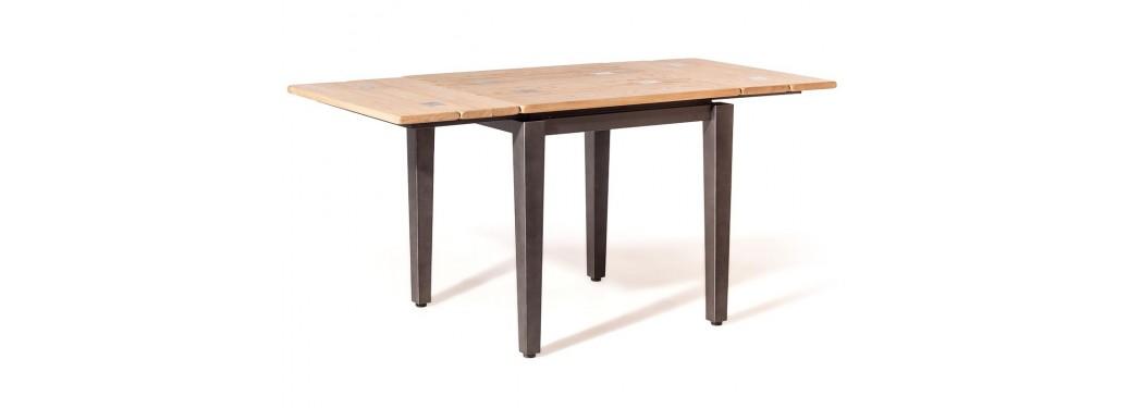 Table repas carrée extensible indus Eiffel