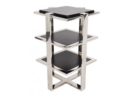 Table d'appoint Elysée - finition noir