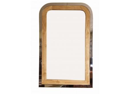 Miroir Montaigne - finition noyer