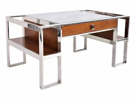 Table basse Aston - finition noyer