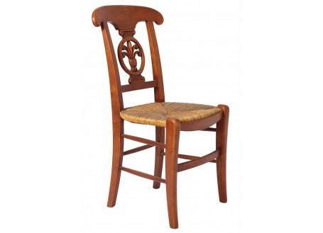 Chaise Palmette paillée