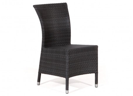 Chaise de jardin Aberdeen couleur anthracite
