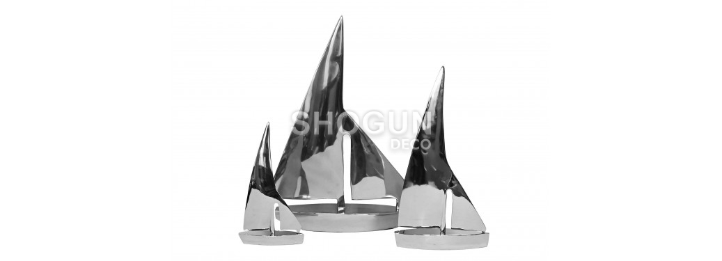 Voilier en aluminium - moyen modèle