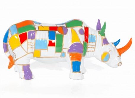 Bulldog statue in resin