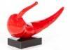 Statue piment rouge en résine