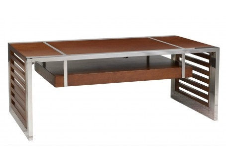 Table basse Lincoln - finition noyer