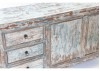 Buffet chinois vieilli 2 portes 3 tiroirs