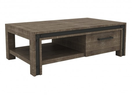Table basse rectangulaire Urban - 3/4 face