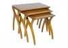 Table gigogne Scandinave Crabe- 3/4 face