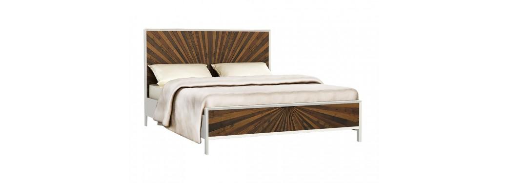 Lit 2 places design Surya - 140cm