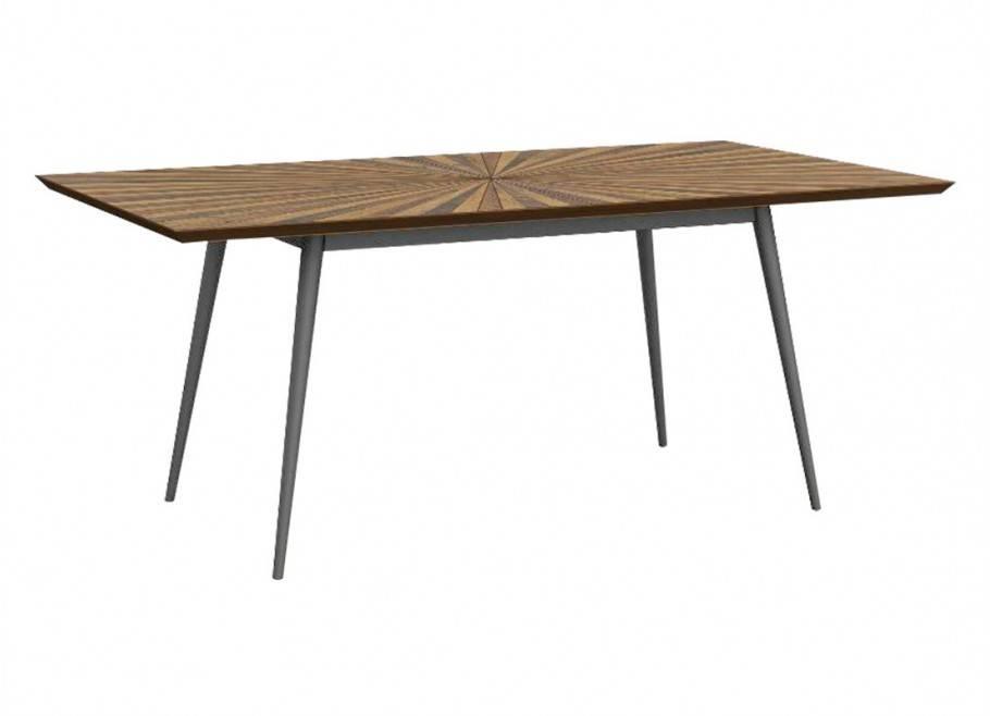 Table de repas rectangulaire avec allonge Surya