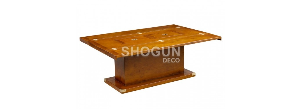Folding coffee table marine Glasgow - rectangular