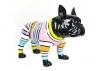 French bulldog statue in resine.