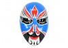 Masque visage décoratif, résine peinte 47 cm