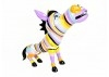 Colourful donkey statue