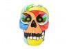 Decorative colourful skull