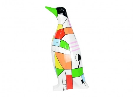 Penguin statue in resin
