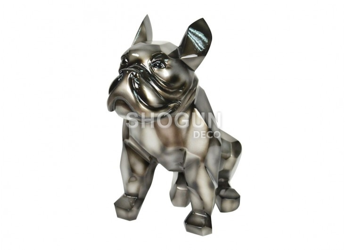 Statue of French bulldog