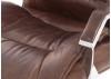 Fauteuil de bureau pivotant - Cuir vintage