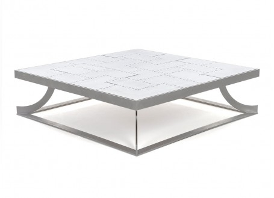 Table basse aluminium Aero
