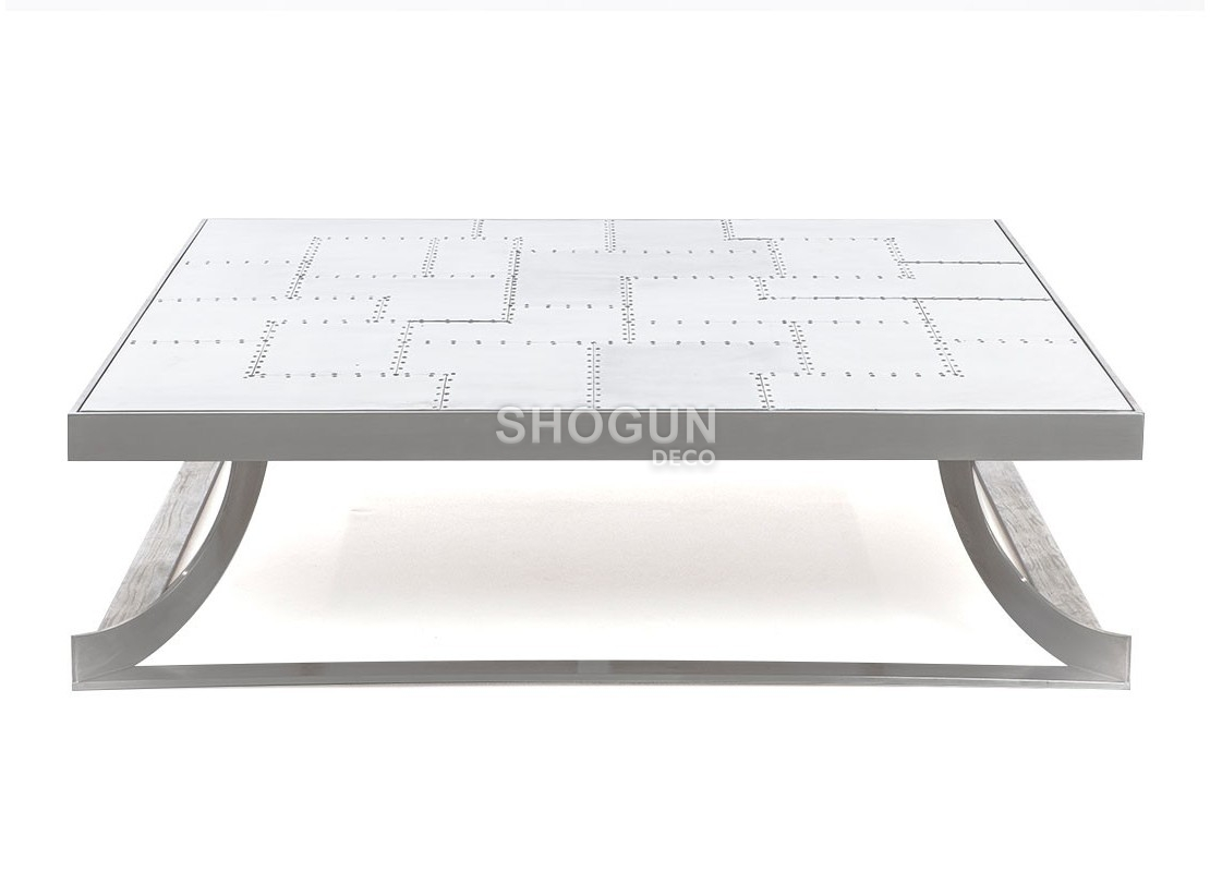 7ec087c9756231 Table basse aluminium Aero · Table basse aluminium Aero ...