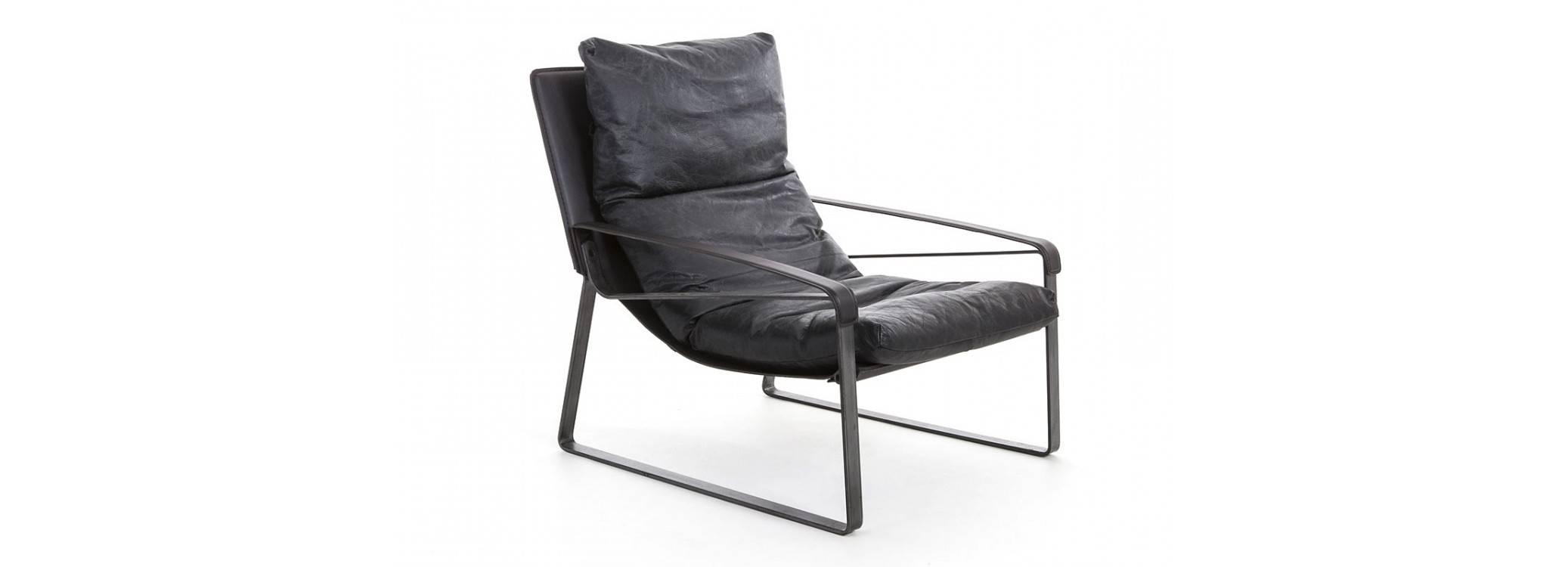 Fauteuil confort Buffalo - Cuir noir