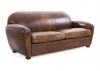 Club sofa 3 seaters in vintage leather