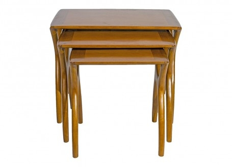 Table gigogne Scandinave Crabe- face