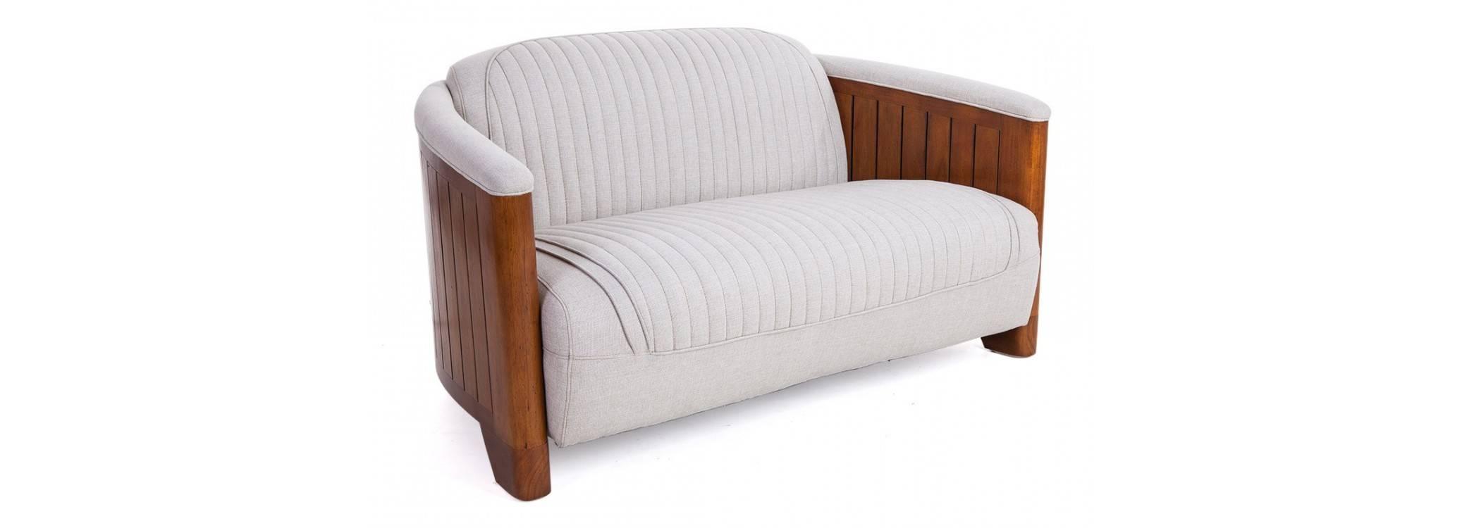 Canoë Sofa - Beige fabric