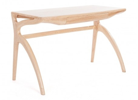 Bureau scandinave Crabe finition bois naturel