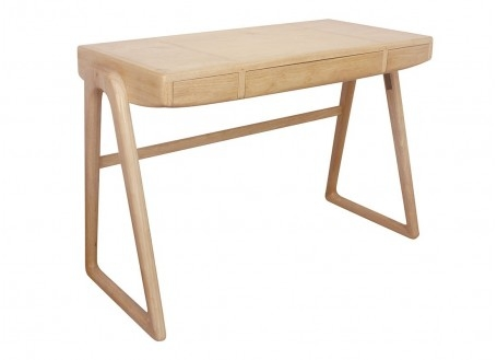 Bureau scandinave Berfen finition bois naturel
