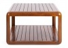 Table basse carrée Canoë -